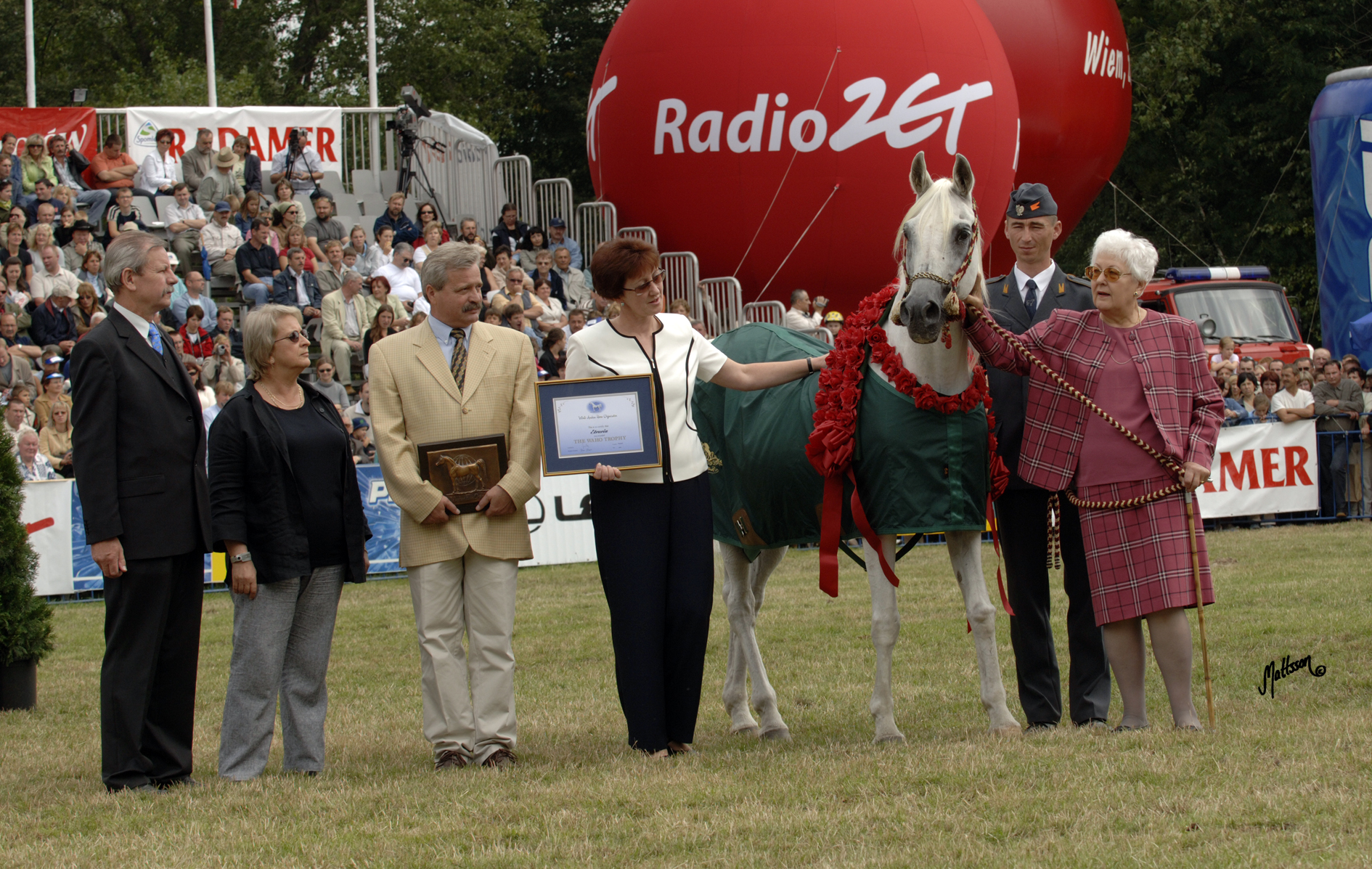 Etruria (Palas x Etna/Faher) - 2005 WAHO trophy award
